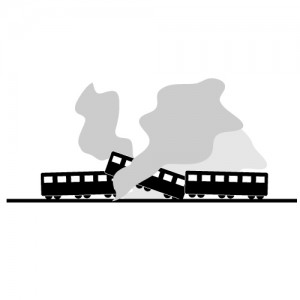5 train wreck clip art