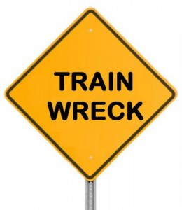 4 train sreck sign