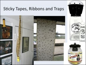 sticky tape and ribbons